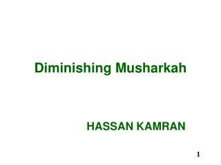 Diminishing Musharkah