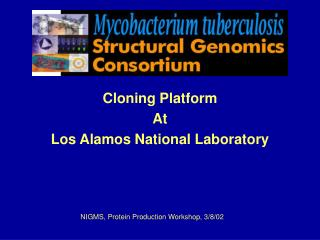 The TB Structural Genomics Consortium title