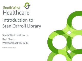 Introduction to Stan Carroll Library