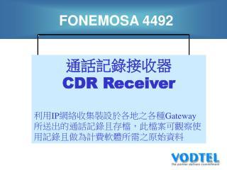 FONEMOSA 4492