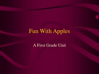 FunWithApples