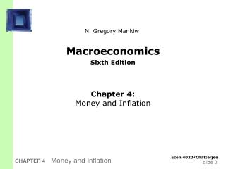 Macroeconomics Sixth Edition