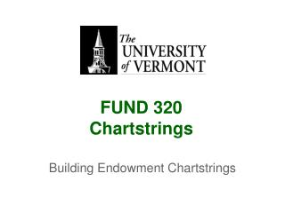 FUND 320 Chartstrings