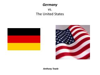 Germany vs. The United States