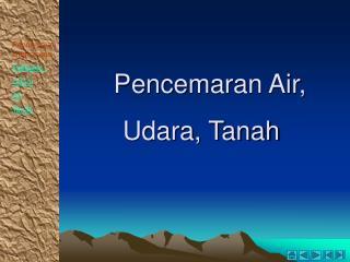 Pencemaran Air,