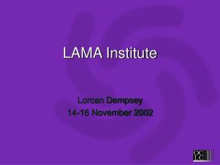 LAMA Institute