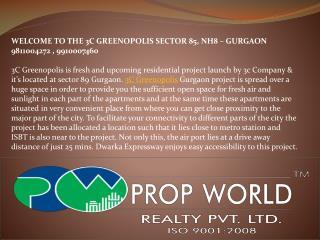 3c greenopolis-9811004272-3c Gurgaon-9910007460-3c greenopol