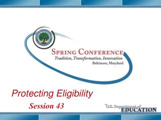 Protecting Eligibility
