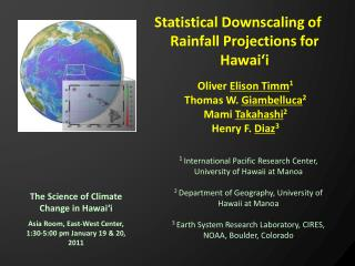 The Science of Climate Change in Hawai�i