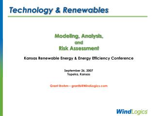 Technology & Renewables
