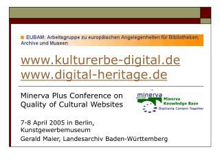 kulturerbe-digital.de digital-heritage.de