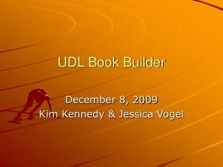 UDL Book Builder