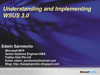 Understanding and Implementing WSUS 3.0