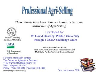 Professional Agri-Selling