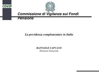 Commissione di Vigilanza sui Fondi Pensione