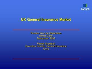UK General Insurance Market