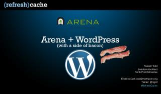 Arena + WordPress
