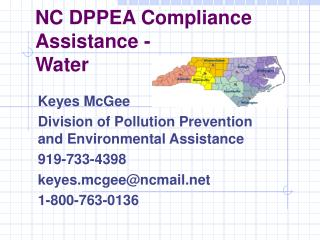 NC DPPEA Compliance Assistance - Water