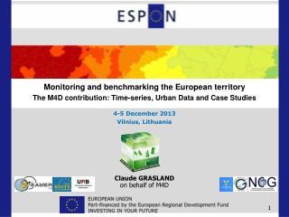 Claude GRASLAND on behalf of M4D