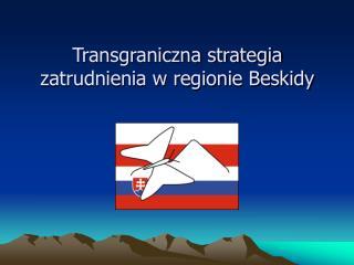 Transgraniczna strategia zatrudnienia w regionie Beskidy