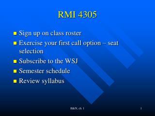 RMI 4305
