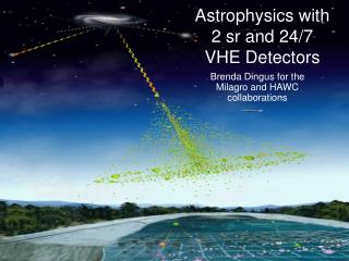 Astrophysics with 2 sr and 24/7  VHE Detectors