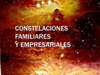 Constelaciones Familiares   Y EMPRESARIALES
