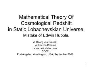 J. Georg von Brzeski Vadim von Brzeski helioslabs CCC2