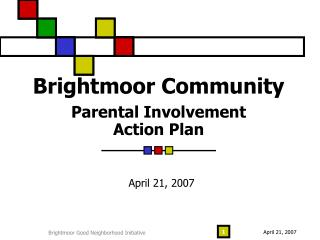 Brightmoor Community   Parental Involvement  Action Plan