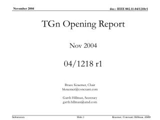 TGn Opening Report Nov 2004 04/1218 r1