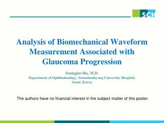 Analysis of Biomechanical Waveform Measurement Associated with Glaucoma Progression