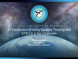 An Introduction to Using Systems Thinking and STELLA in the Classroom