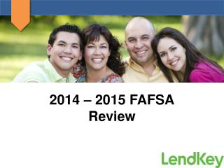 2014 – 2015 FAFSA Review