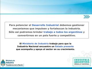 Registro Industrial de la Nación Ley 19.971