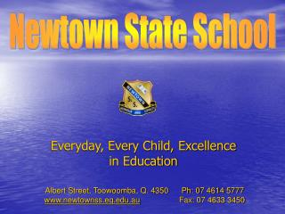 Everyday, Every Child, Excellence in Education