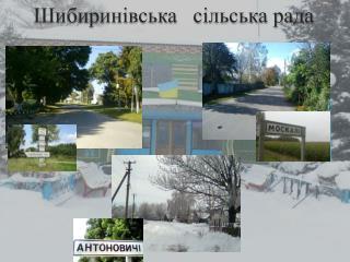 Шибиринівська    сільська рада