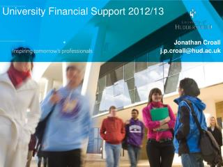 University Financial Support 2012/13