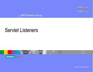Servlet Listeners