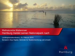 Weltnaturerbe Wattenmeer Hamburg meldet seinen Nationalpark nach