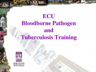 ECU  Bloodborne Pathogen  and  Tuberculosis Training