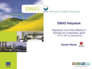 EMAS Helpdesk