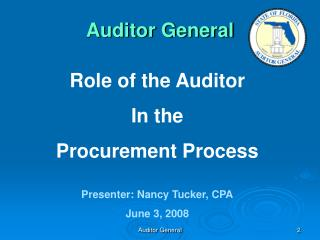 Auditor General