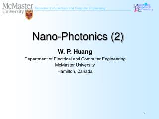 Nano-Photonics (2)
