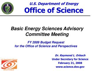 Basic Energy Sciences Advisory Committee Meeting