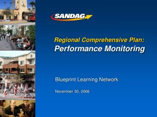 Regional Comprehensive Plan: Performance Monitoring