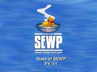 State of SEWP FY '11
