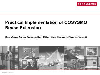 Practical Implementation of COSYSMO Reuse Extension