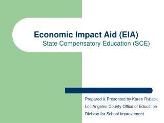 Economic Impact Aid (EIA)