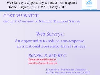 Web Surveys: