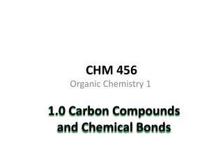 CHM 456